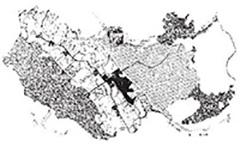 厚木ニュータウン(全体計画図)