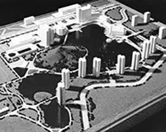 マシャッドニュータウン(模型写真)