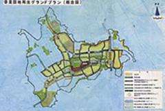 香里団地再生計画(全体計画図)