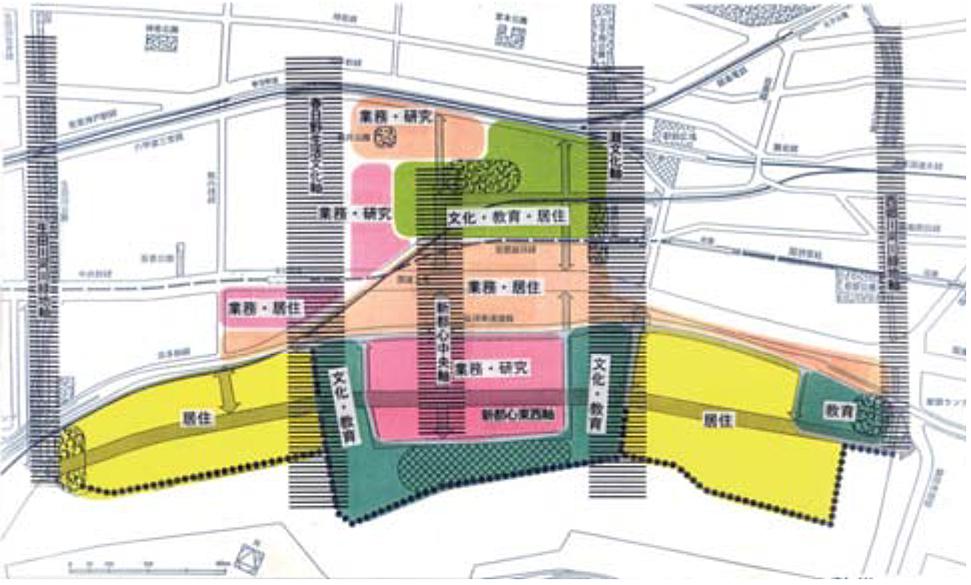 神戸市東部新都心住宅地計画・HAT神戸