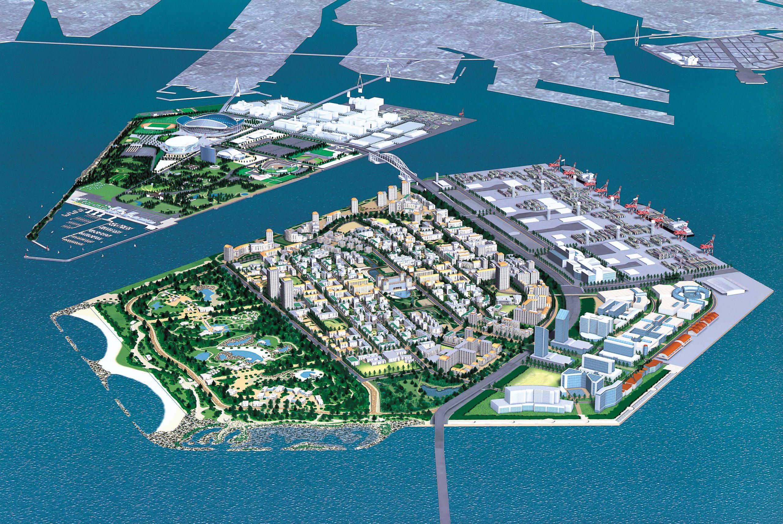 夢洲地区住宅地計画