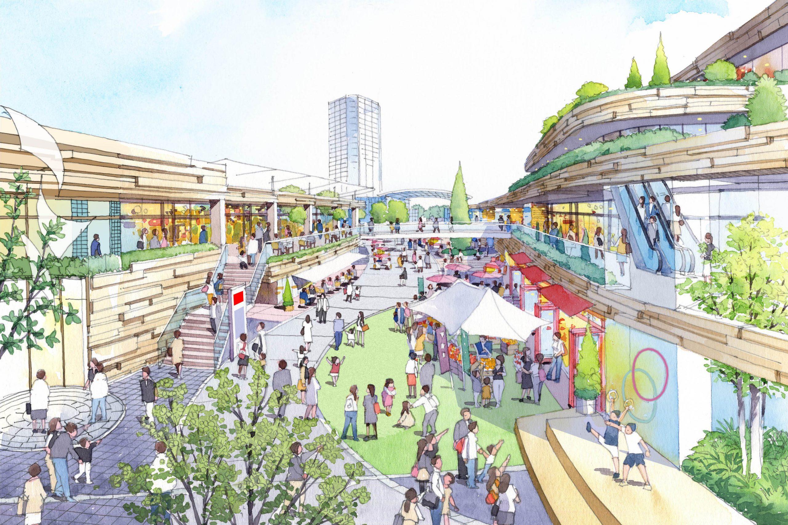 多摩ニュータウン再生、諏訪・永山地区まちづくり計画