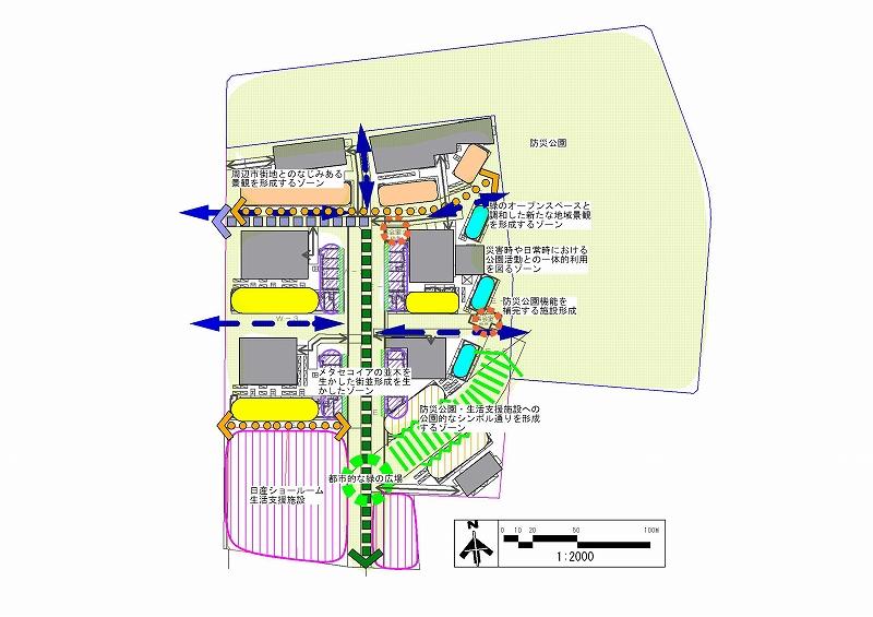 桃井三丁目地区整備計画