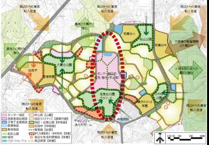 横浜若葉台再生マスタープランと都市計画変更支援業務