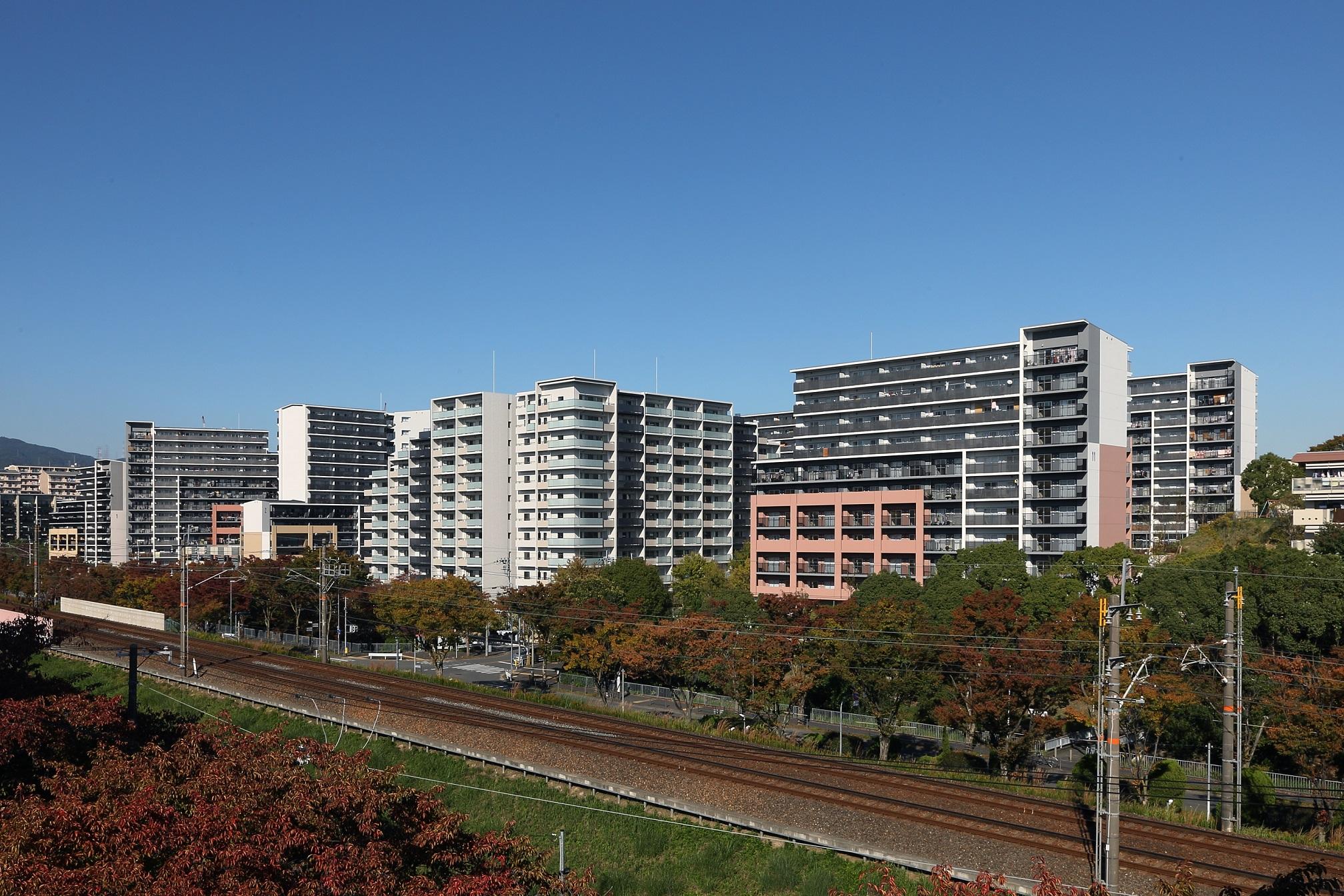 大阪府営吹田藤白台住宅