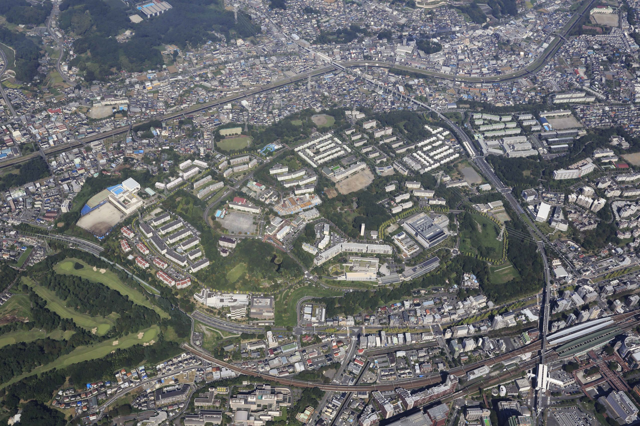 多摩ニュータウン18住区(松ヶ谷)