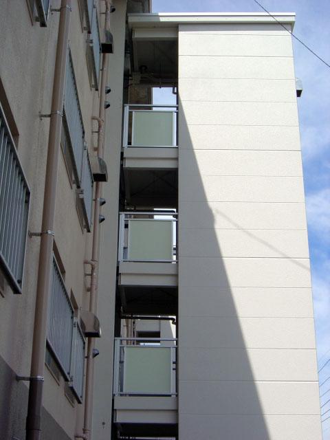 佐賀県営鍋島団地(中層住棟、改善)