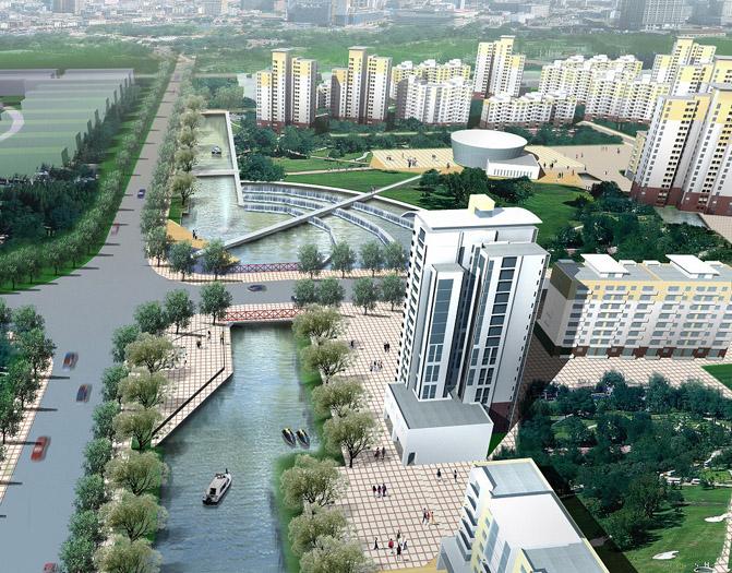 上海旗忠森林体育城:国際都市計画