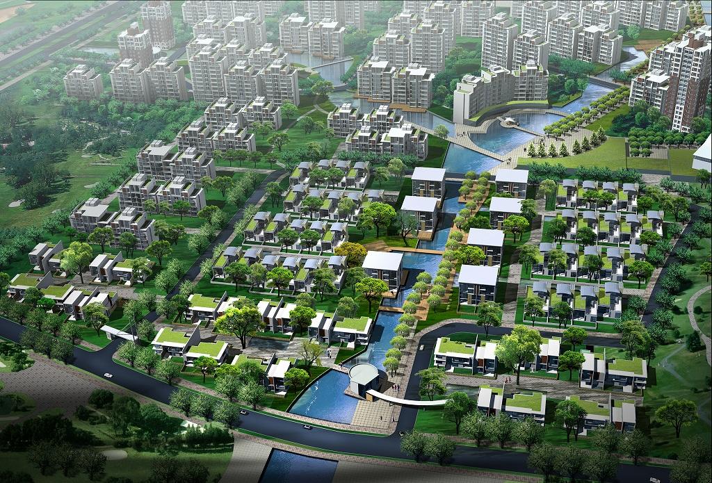 中国・武漢市金銀湖西区総体計画